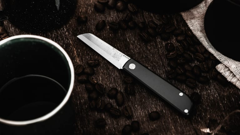 Wesn launches its most compact knife to date, the Samla