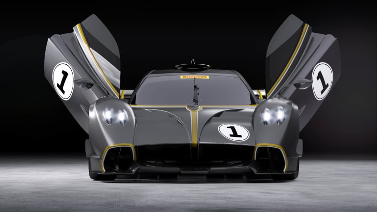Pagani unveils its track-ready Huayra R