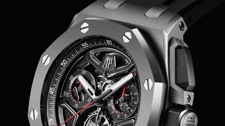 Audemars Piguet reveals a new case and complication for the Royal Oak Offshore collection