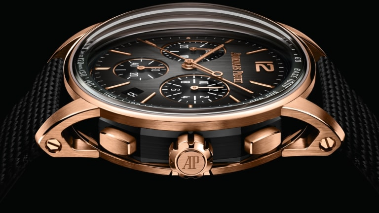 Audemars Piguet combines black ceramic and gold for its latest Code 11.59 Chronographs