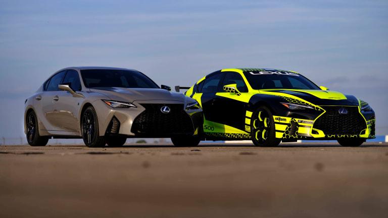 Lexus announces the 2022 IS 500 Launch Edition