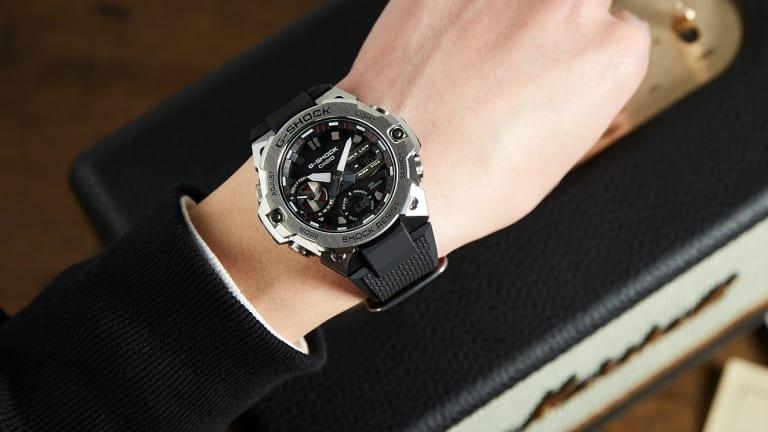 G-Shock releases their slimmest G-Steel timepiece