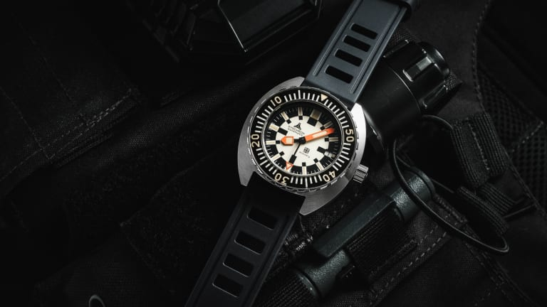 Synchron returns as its own watch brand with a 70s-inspired dive watch