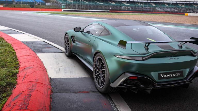 Aston Martin's latest Vantage celebrates the company's return to F1