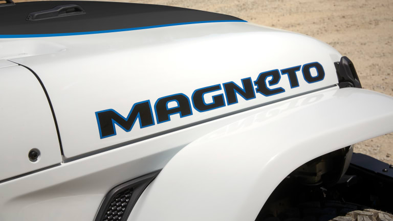 Jeep's Magneto Concept previews the brand's electric ambitions