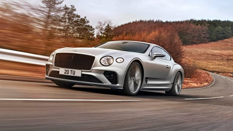 Bentley brings together world-class luxury and supercar performance in their new Continental GT Speed