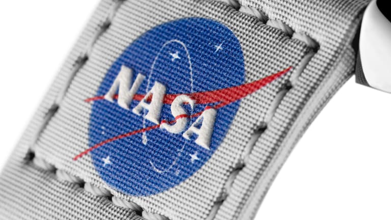 Omega celebrates its history in space travel with a new collection of Velcro straps