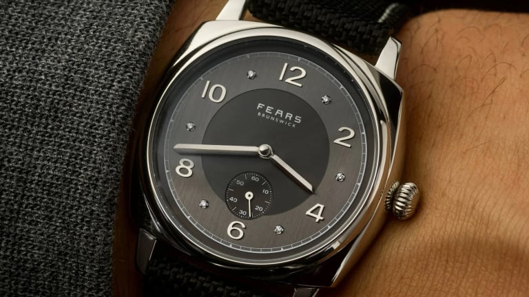 Fears releases a platinum version of its Brundwick timepiece