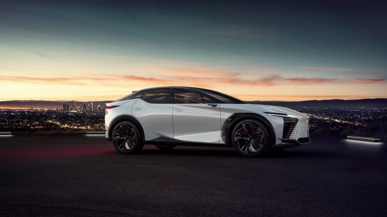 Lexus previews the future of the brand with the LF-Z Electrified concept
