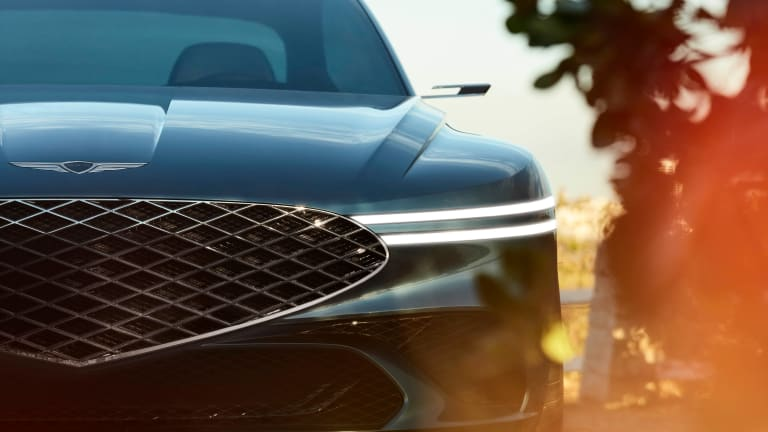 Genesis reveals an all-electric GT with the X Concept