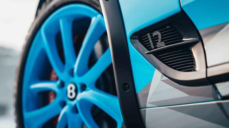 Bentley Motorsport debuts its Ice Race Continental GT