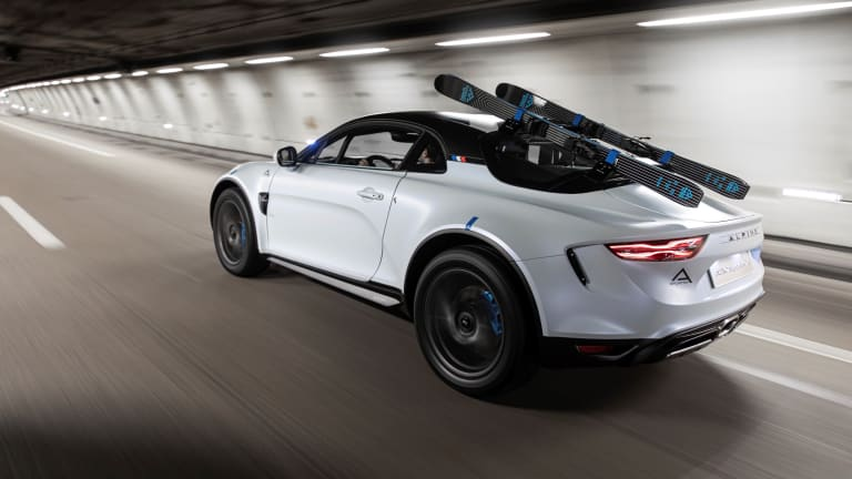 Alpine beefs up the A110 with the rally-inspired SportsX