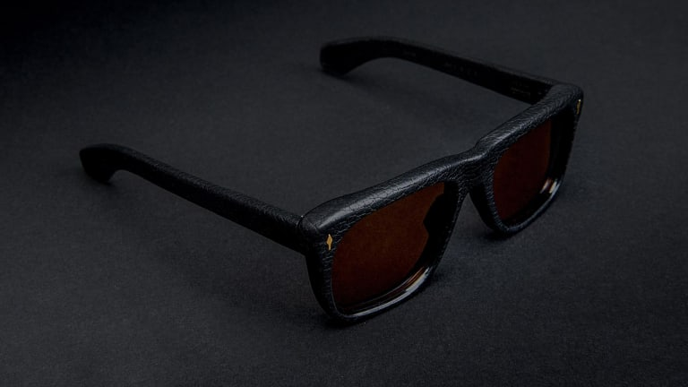 Black Optical and Jacques Marie Mage launch a duo of bison leather eyewear
