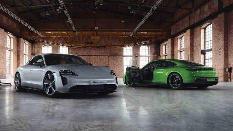 Porsche details its Exclusive Manufaktur options for the Taycan