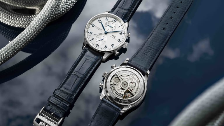 IWC is updating the popular Portugieser Chronograph with an in-house movement