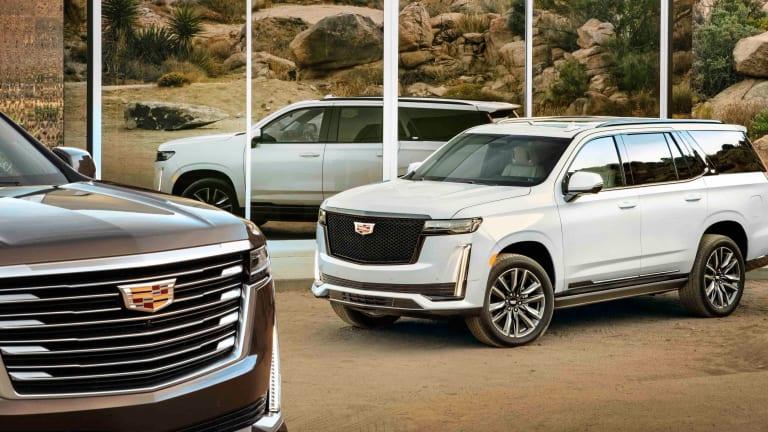 Cadillac unveils the 2021 Escalade