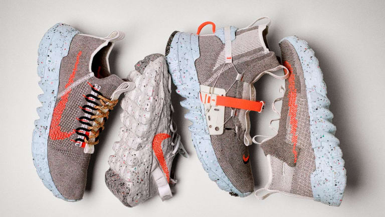 Nike Space Hippie is turning factory scraps into a new collection of sneakers