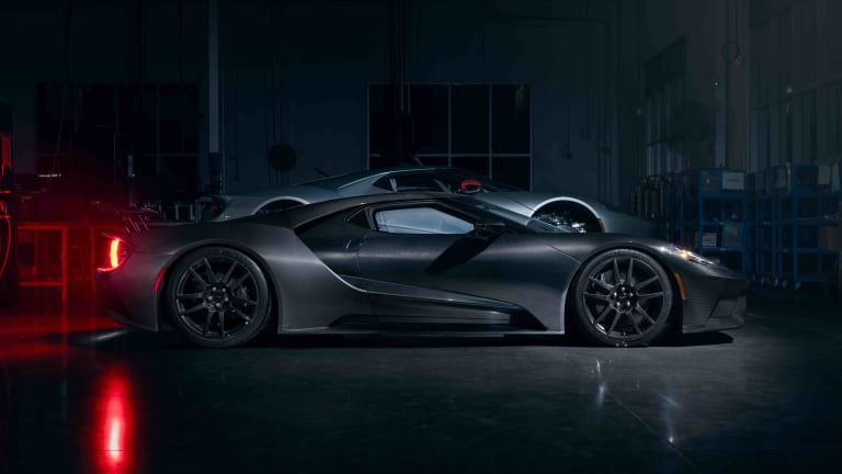 The 2020 Ford GT gets more power and a new Liquid Carbon exterior option