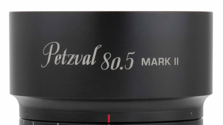Lomography's new Petzval 80.5 Mark II celebrates the 180th anniversary of the first portrait lens