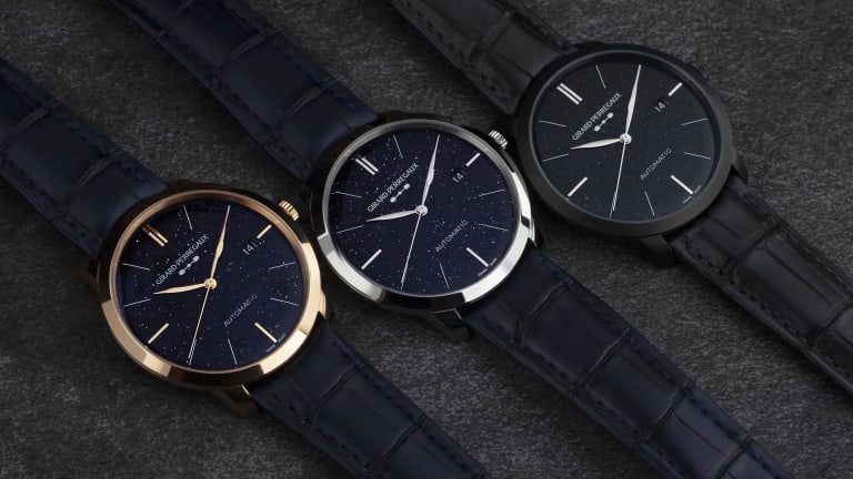 Girard-Perregaux goes celestial with their 1966 Orion Trilogy