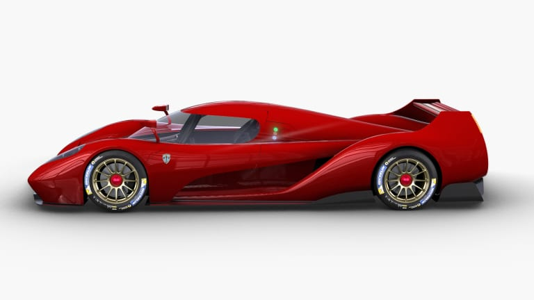 Scuderia Glickenhaus is heading to Le Mans with an 840 hp hypercar