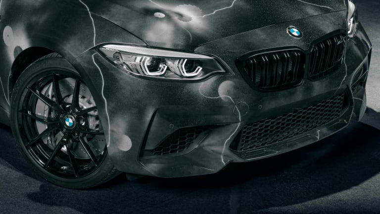 BMW reveals its collaboration with Futura 2000