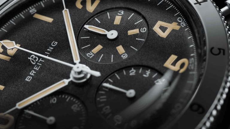 Breitling reissues its Co-Pilot timepiece from 1953