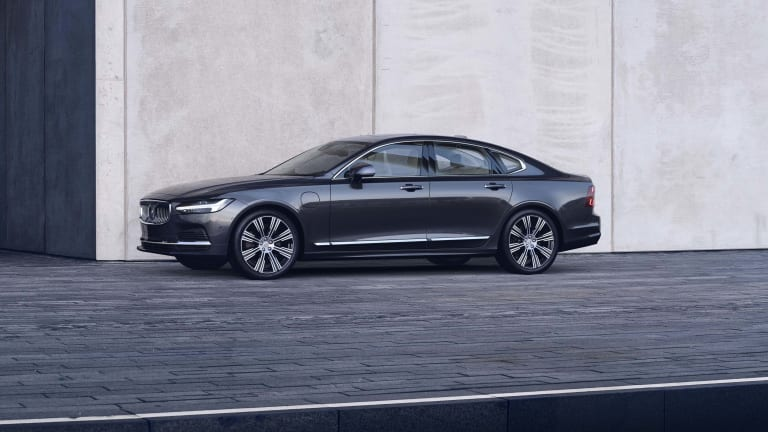 Volvo reveals its refreshed V90 and S90 models