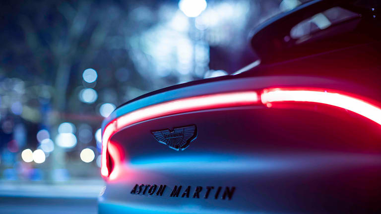 The upcoming DBX SUV gets the Q by Aston Martin treatment