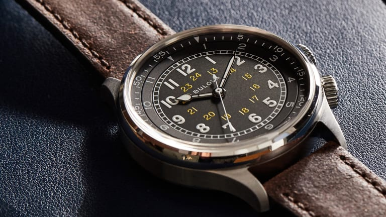 Bulova's A-15 Pilot echoes the 40s with a stylish watch for travel