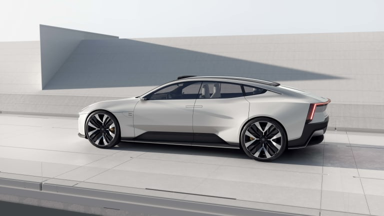 Polestar shows off the next evolution of its design language with the Precept concept
