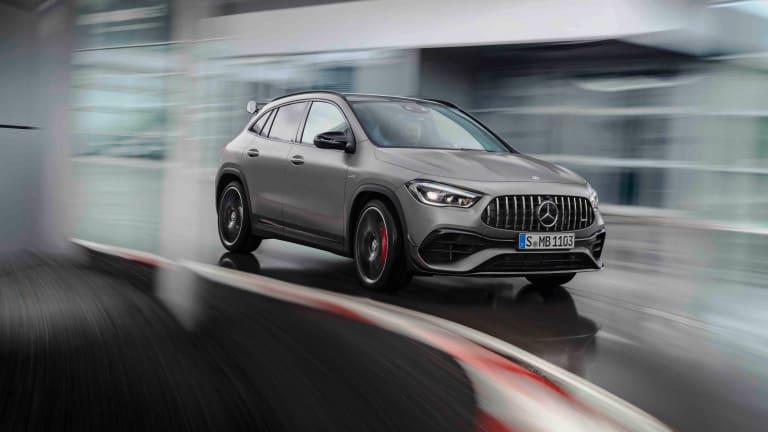 Mercedes-AMG reveals the 2021 GLA 45