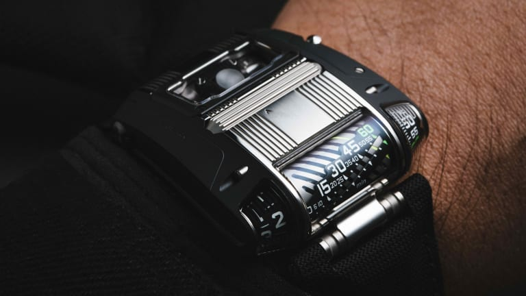 Urwerk adds a two-tone finish to its UR-111C
