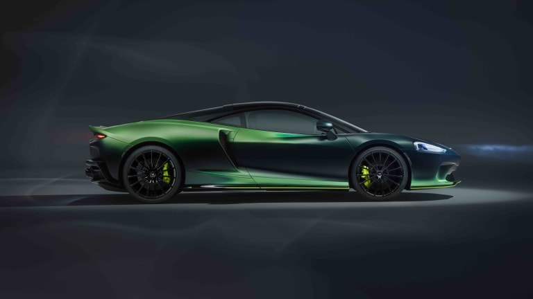 McLaren's MSO division shows off its latest luxury innovations with the Verdant Theme GT