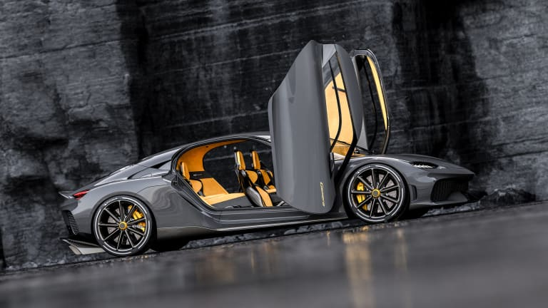The Koenigsegg Gemera is the world's first Mega-GT
