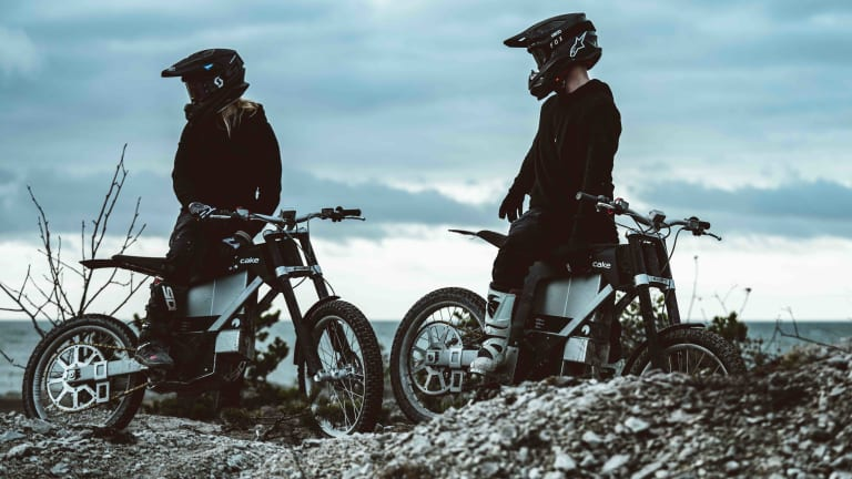 CAKE introduces its latest off-road electric motorcycle, the Kalk INK