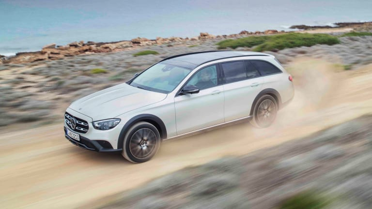 Mercedes-Benz is bringing the E-Class All Terrain to the USA