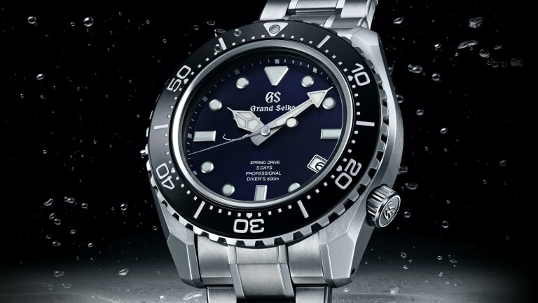 Grand Seiko introduces their new Spring Drive caliber in an all-new dive watch