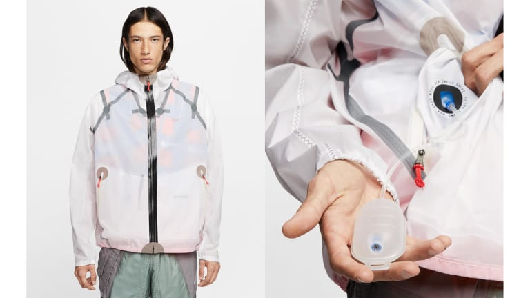 Nike's new ISPA Inflate Jacket brings inflatable insulation to a spring-ready shell