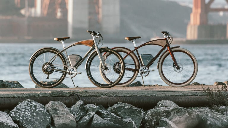 Vintage's new Cafe hides 750 watts of power in a retro-modern electric bicycle
