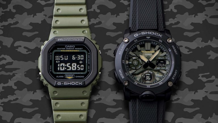 G-Shock releases its Street Utility Military Series