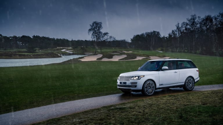Niels van Roij Design is bringing the Range Rover Coupe to fruition