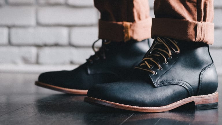 Oak Street Bootmakers celebrates its 10th Anniversary with a limited edition Trench Boot
