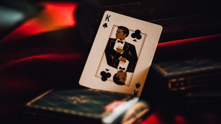 theory11's Hollywood Roosevelt Playing Cards are a necessary addition to your stay-at-home kit