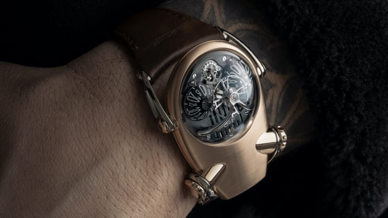 MB&F introduces its weirdly beautiful HM10 Bulldog