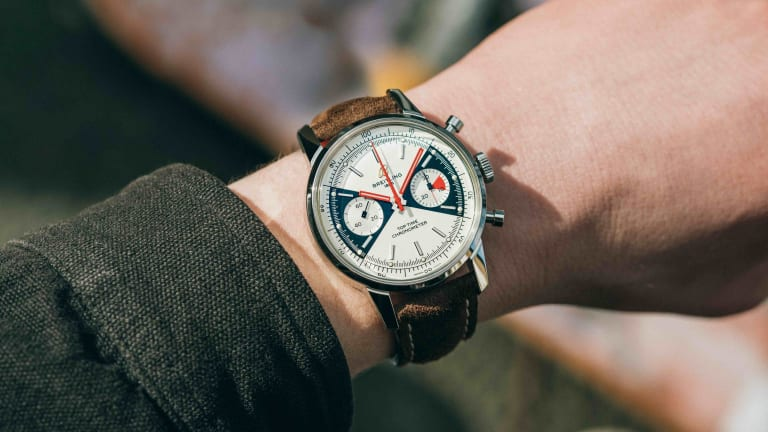 Breitling revives the Top Time from the 1960s
