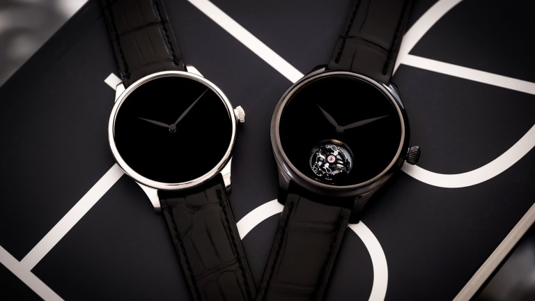 H. Moser & Cie. releases a trio of Vantablack timepieces