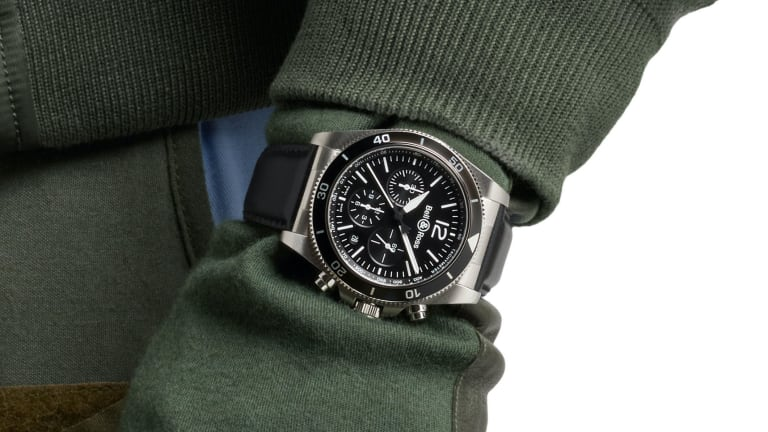 Bell & Ross releases its latest chronograph, the BR V3-94 Black Steel