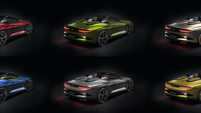 Bentley Mulliner shows off the extensive customization options for the ultra-limited Bacalar