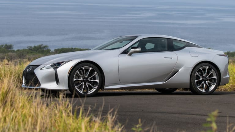 Lexus announces the 2021 LC 500 and LC 500h